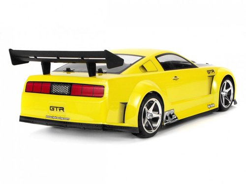 Hpi 17504 2005 Ford Mustang Gt R Clear Body 200mm