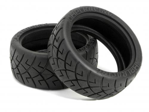 Hpi 4790 Hpi Racing X Pattern Tire 26mm D Compound 2