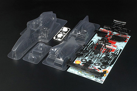 Tamiya 51397 F104 Body Set Ferrari F60