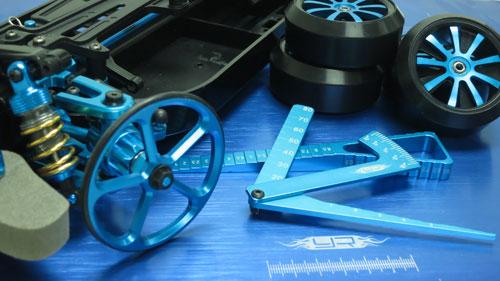 Yeah Racing Yt 0069bu Aluminum Set Up Wheels For 1 10 Rc