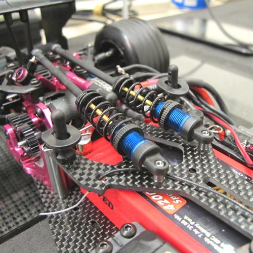 3Racing FGX-332 Front Double Wishbone Suspension System for 3racing Sakura FGX