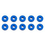 blue aluminum 7.8x1.0 mm Team Associated 31385 Bulkhead Washers