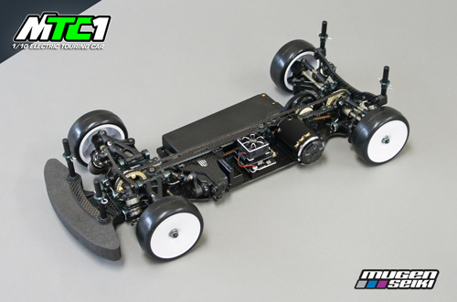 Mugen Seiki Racing : MTC1 Front Upright 1pc Left or Right