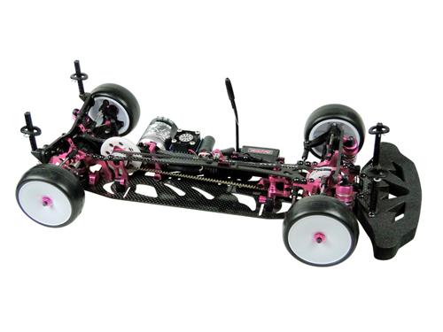 3Racing 4.8mm Hex Ball Stud L=5 10 pcs Pink 1:10 RC Touring Car #3RAC-BS48H5//PK