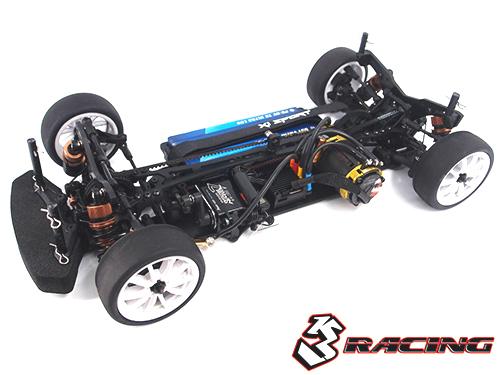 3Racing Sakura Ultimate Aluminum Wheel Adaptor 5mm Black RC Cars #SAK-U329//BK