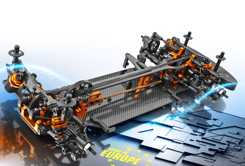 T4 XRAY 305521-K Aluminium Solid Layshaft Black